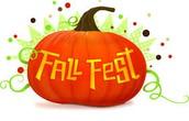 PTA Fall Fest October 30th