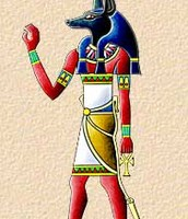 Anubis god of the underworld