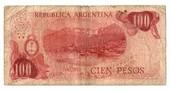 Billete argentino de esa época