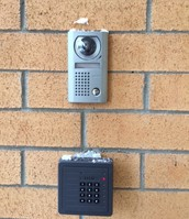 Visitors will need to use the buzzer system to enter the building.