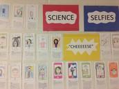 Student Science Selfies