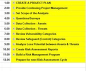 HIPAA Risk Analysis Project Plan (Sample)