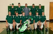 Secondly, his is the golf team.