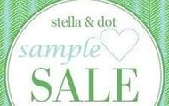 Closet clearout: Samples 50% off!