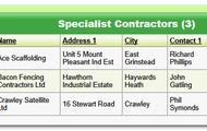 Specialist Contractors