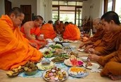 Buddhist Meal