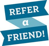 REFER A FRIEND AND CHOOSE: