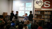 Structural Engineer Visits 3rd Grade