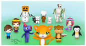 Stampy and frends