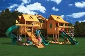 Back-Yard Playground
