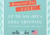 Memorial Day Sale & Incentive: