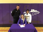 Katie Ortiz Signs Volleyball Letter of Intention