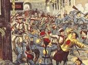 1899-1901: Boxer rebellion in China