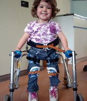 A 4 year old with Spina bifida