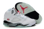 Red ,black and white Jordan's