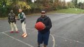 Malik Shooting Hoops