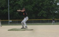 Me pitching in a semi final game