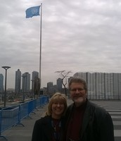 Steve and Dorthy at the United Nations Commission on the Status of Women