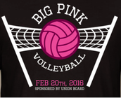 UB presents:  The Big Pink Volleyball Tournament