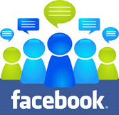 1. Create a group on facebook for a class