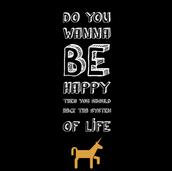 zelf gemaakte quote poster