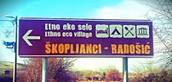 Izlet u zračnu luku i Radošić