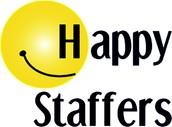Happy Staffers = Happy Customers!