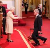 Tim Berner's Lee being Knighted