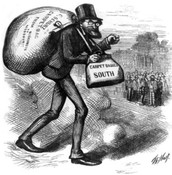 Economic Reconstruction Era Cartoon