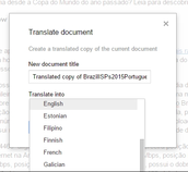 Translate any Doc