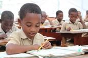 Boys Learning in School