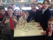 Maker Mondays in the library at lunch time