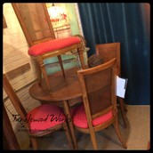 Mid-Century Dining Table and Set of 4 Chairs ~ $525