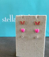 Marisposa Trio Earrings $15