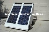 Save Mother Earth By The Use The Of Solar Generators For Home