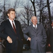 U.S. Leaders Eisenhower and John Kennedy