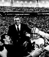 The legendary coach