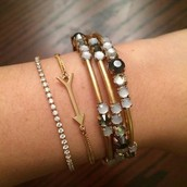 Alice £40, Wishing £16 & Isabelle £35 Bracelets