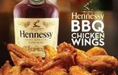 hennessy bbq chicken wings