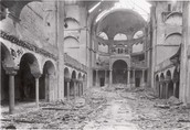 The Jewish Synagogues Were Destroyed