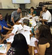 Zone teams of leaders problem-solve