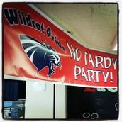 400 Students at No-Tardy Party!