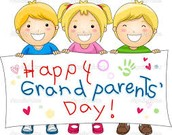 Grandparents' or special friends' Day!