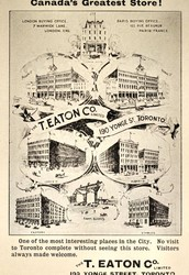 What Timothy Eaton was involved in that made him a leader