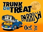 Trunk or Treat Parrish Oct. 31