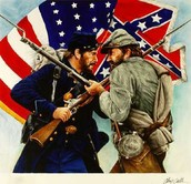 Union and Confederate Soldiers