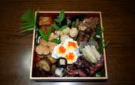 osechi-ryori in seperate box