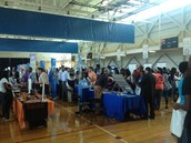 New Century and Lee High at the College and Career Fair