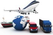 sterke verbetering in transport en communicatie