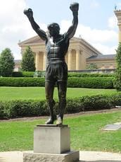 Visiten Rocky estatua y museo de arte!